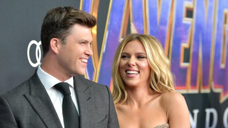 Scarlett Johansson hosted Saturday Night Live based on Avengers theme