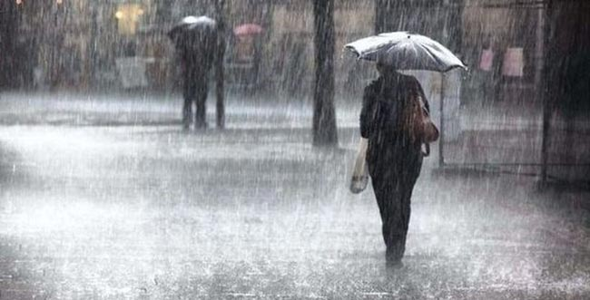Showers or thundershowers expected in several areas