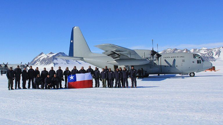 Chilean military plane 'disappears' with 38 aboard