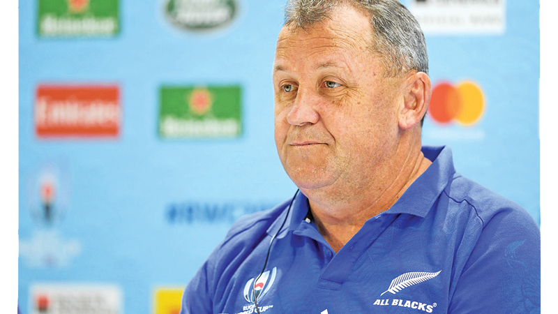 New All Blacks coach keen to cast off Hansen's shadow