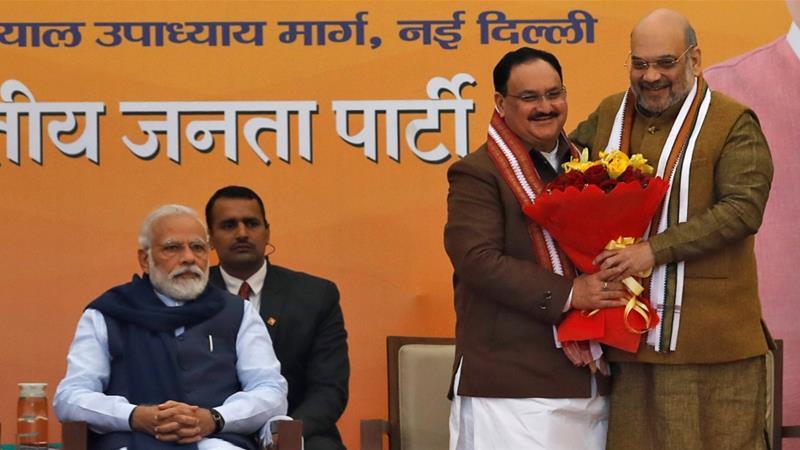 India's governing party BJP picks JP Nadda as president