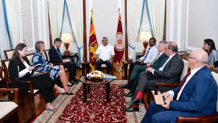 President tells EU to look positively at Sri Lanka