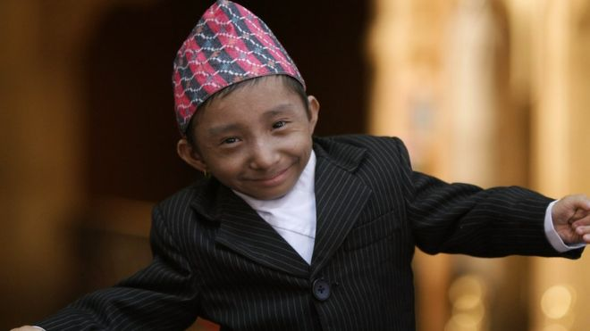 Khagendra Thapa Magar: World's shortest mobile man dies aged 27
