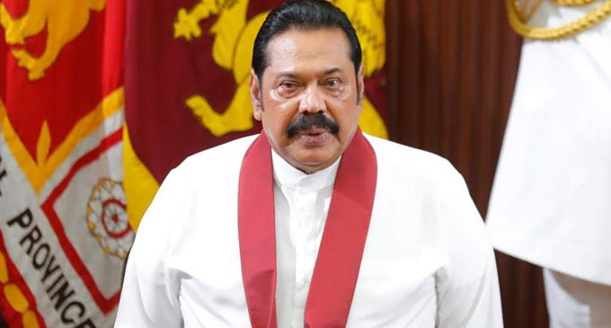 Mahinda assures Gotabaya continued support and guidance