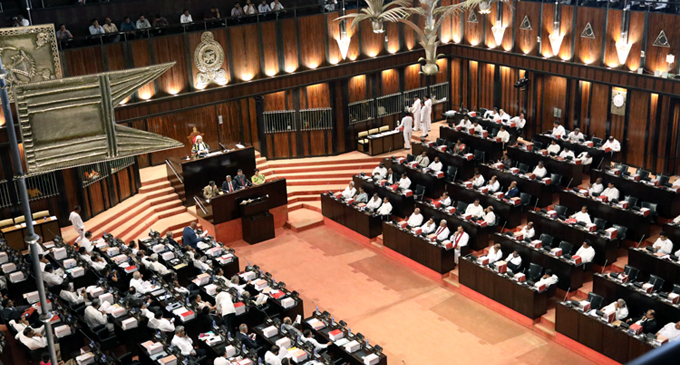 Budget passed with two thirds majority