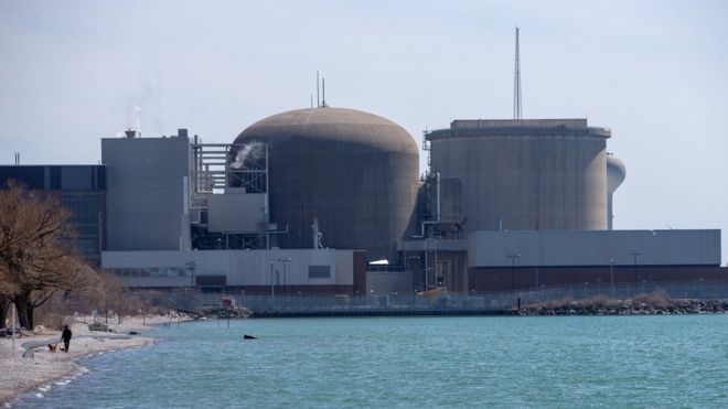 Canada nuclear plant: Alert about incident sent in error – [IMAGES]