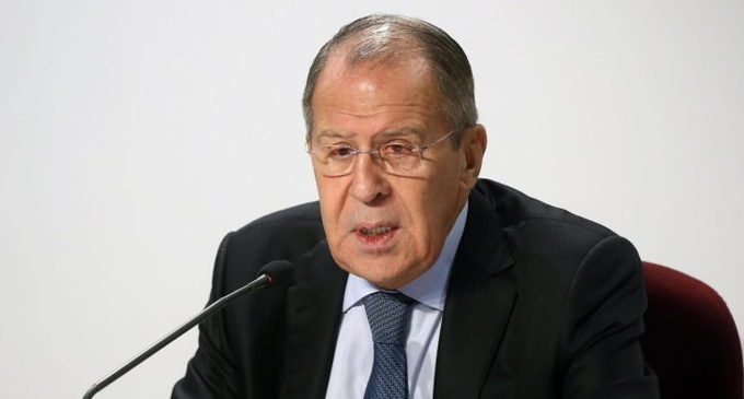 Sergey Lavrov arrives in the island on a state visit