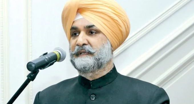 Indian envoy Sandhu to be new Indian Ambassador to US
