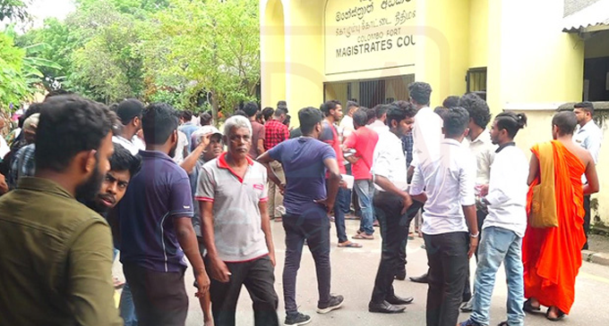 Colombo University Students granted bail