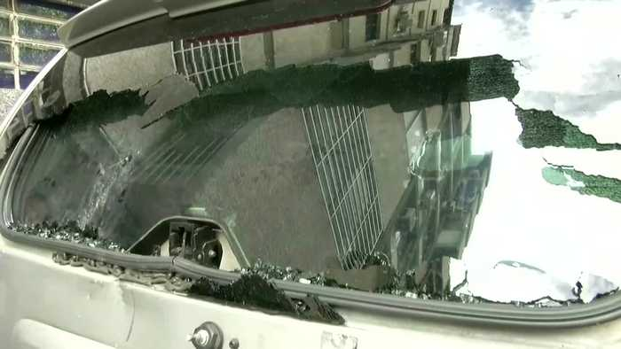 Venezuela opposition convoy attacked outside parliament