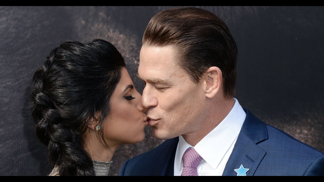 John Cena and girlfriend Shay Shariatzadeh spotted kissing at 'Dolittle' Premiere