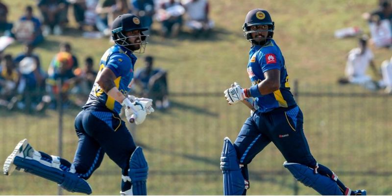 Sri Lanka posts 345/8 in Hambantota