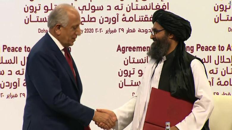 US & Taliban sign peace deal to end 18-year war
