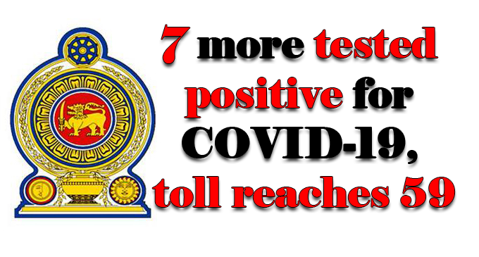 Seven more tested positive for COVID-19, toll reaches 59