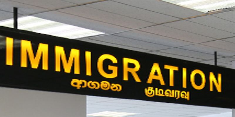 International airports in SL closed for arrivals