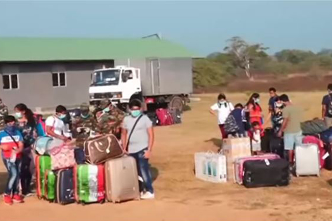 Third batch of 223 quarantined persons returns home