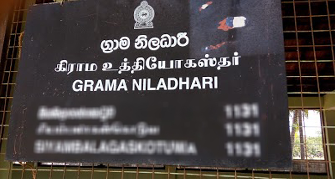 Grama Niladharis suspends their withdrawal from services