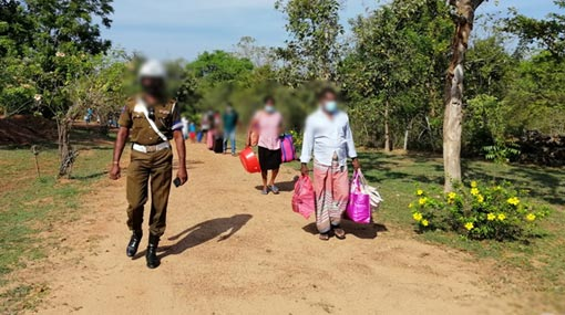 Coronavirus: 175 civilians released from Iranamadu quarantine center