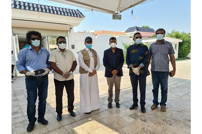Qatar Interior Ministry donates over 1,900 dry ration parcels to SL Embassy