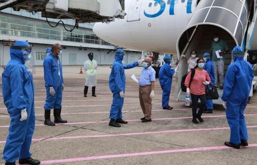 181 stranded Sri Lankans return from Russia