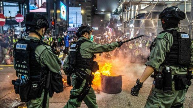 Hong Kong security law: China passes controversial legislation