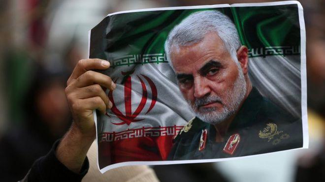 Qasem Soleimani: Iran seeks Trump's arrest over killing of general