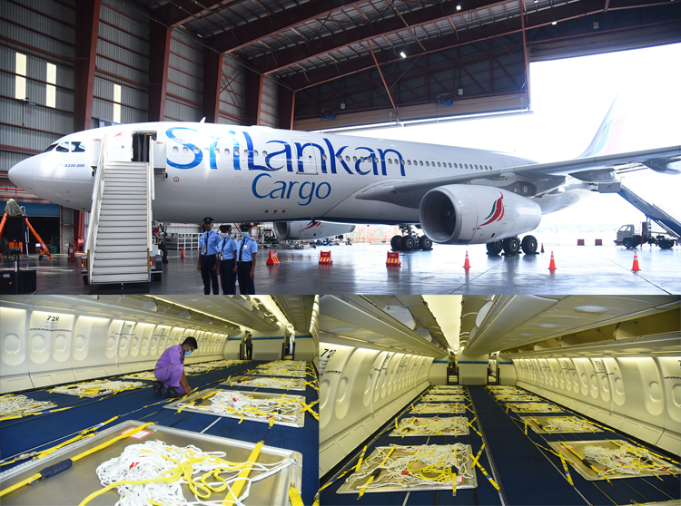 SriLankan Airlines supports export industries by converting passenger aircraft to full freighter