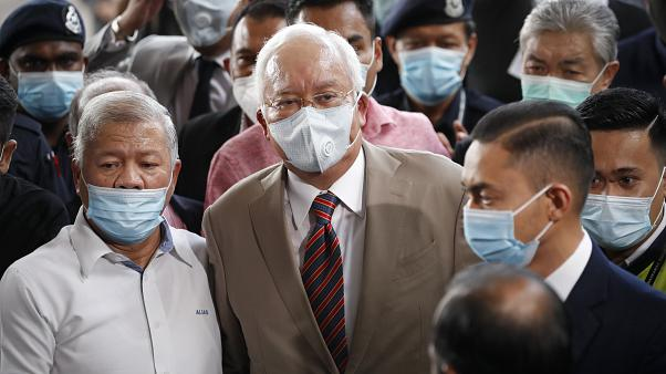Former Malaysian PM guilty on all charges in corruption trial