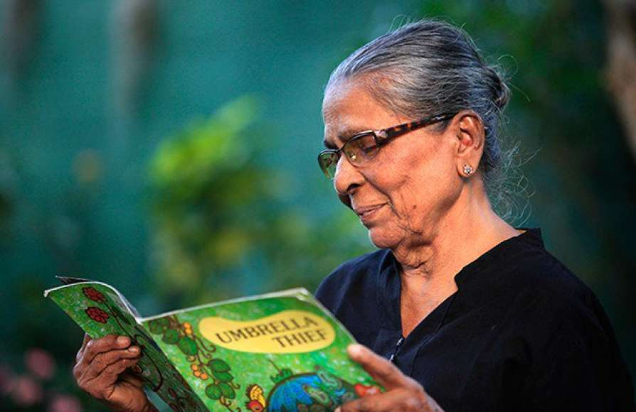 Veteran children's book writer Sybil Wettasinghe passes away