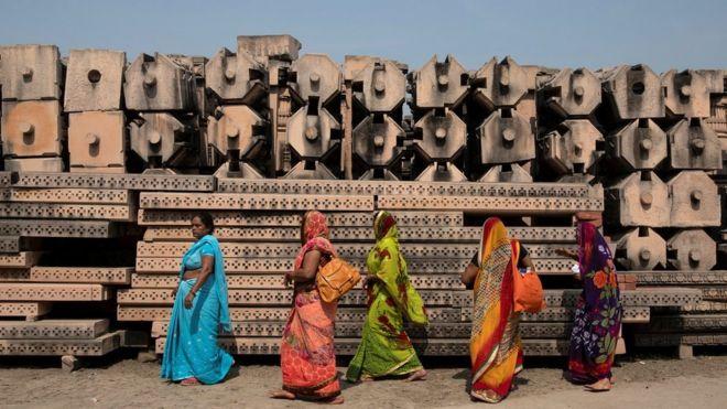 India PM Modi lays foundation for Ayodhya Ram temple amid Covid surge