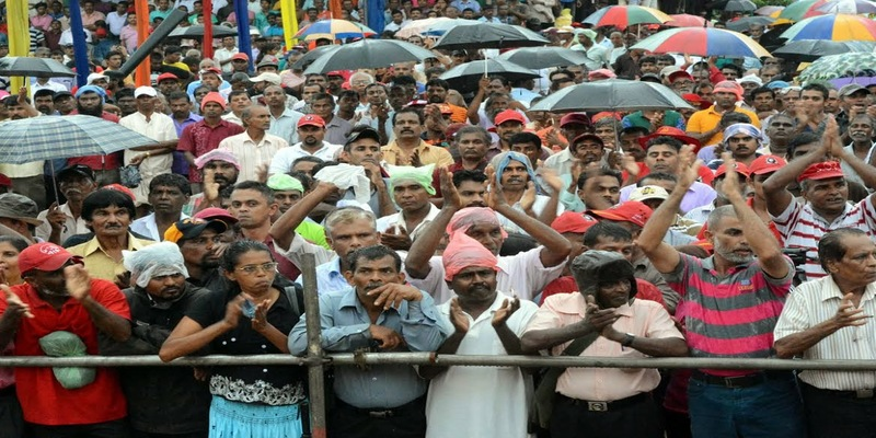 Final rallies of political parties this evening