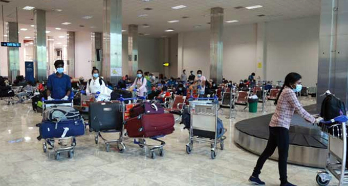 Over 60 Lankans repatriated