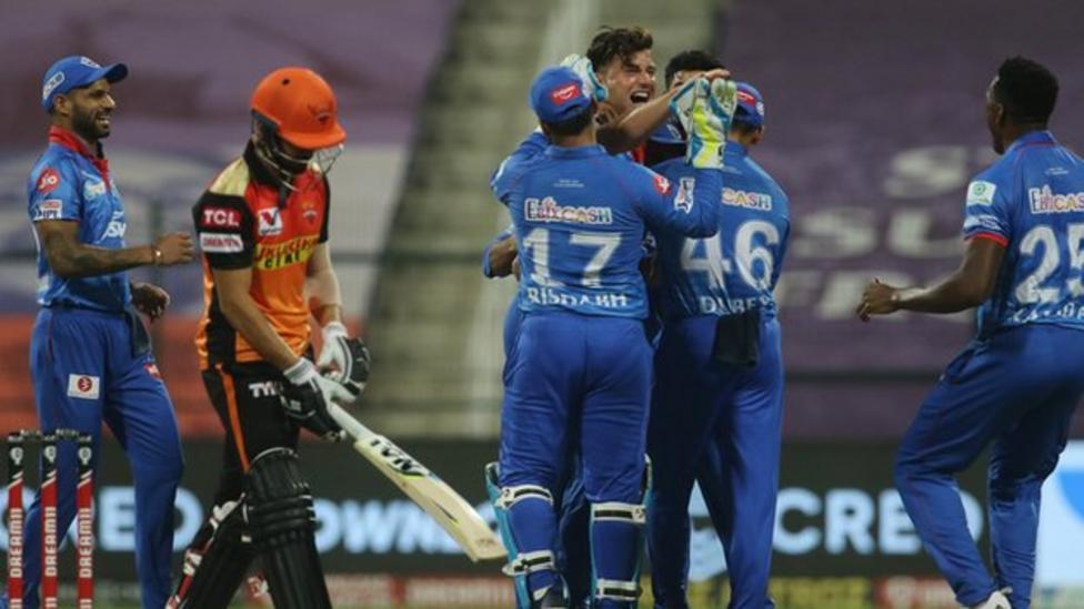 Delhi beat Hyderabad to reach IPL final