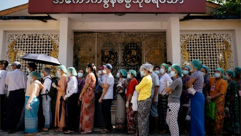 Myanmar vote count begins with Suu Kyi win expected