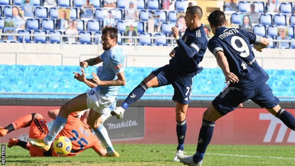 Late Lazio strike denies Juve victory