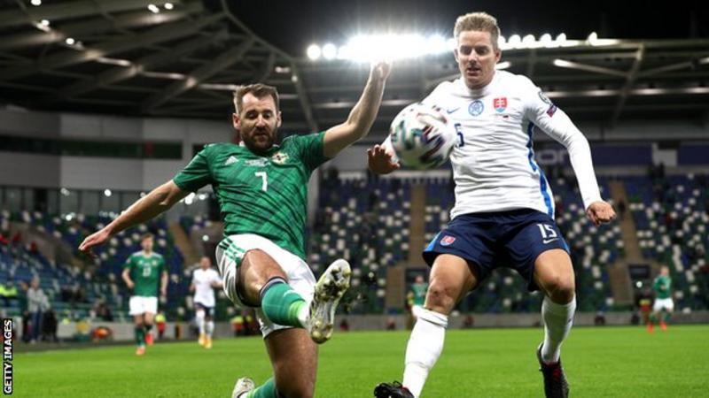 Slovakia beat Northern Ireland to book spot at Euros