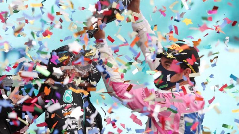 Hamilton wins 7th title to equal Schumacher's record
