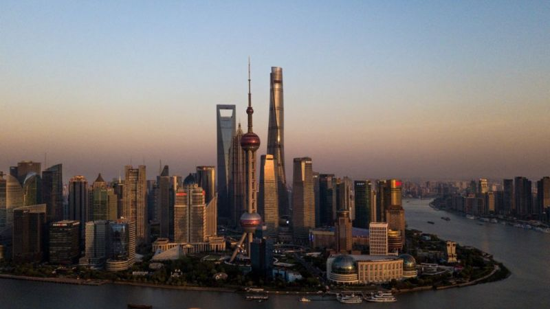 Shanghai rises to become world's most connected city