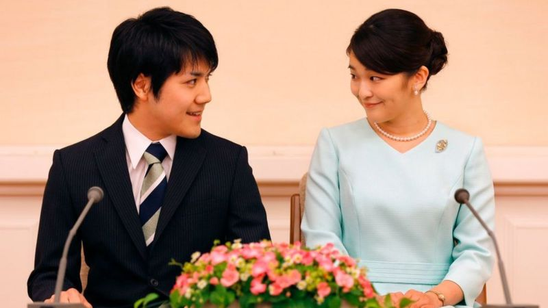 Japan's Crown Prince approves daughter's wedding