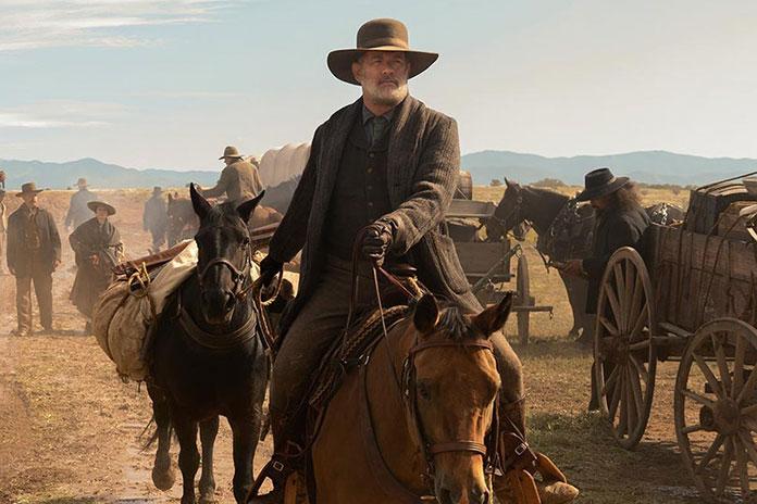 "Universal puts Hanks' ""News"" on Netflix overseas"