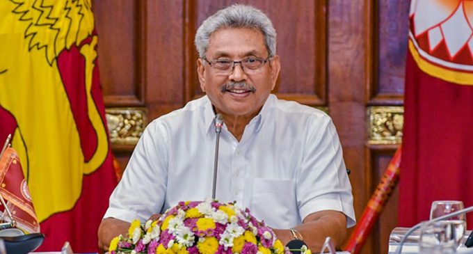 """""""We welcome the year 2021 with positive attitudes"""" – President Gotabaya Rajapaksa"""