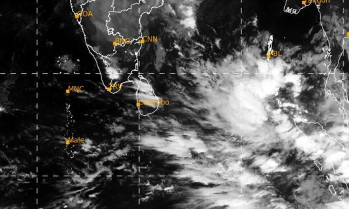 Another cyclone is developing near SL