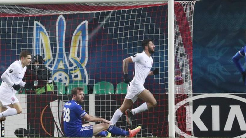 Leicester undone by late winner in Ukraine