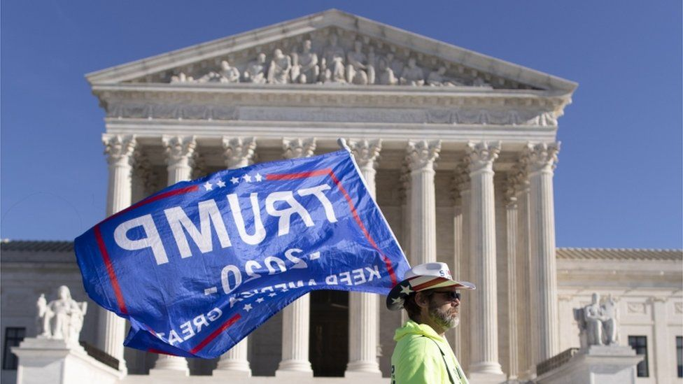 Supreme Court rejects Trump-backed election lawsuit