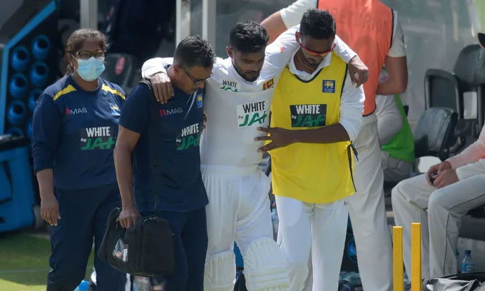 Dhananjaya De Silva likely to miss rest of the series