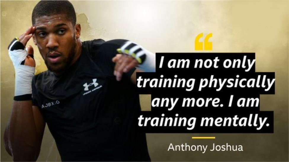 """I have built a tougher mentality"" – Joshua"