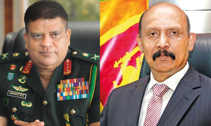 Army Commander – Secretary to the Ministry of Defence promoted to rank of 'General'
