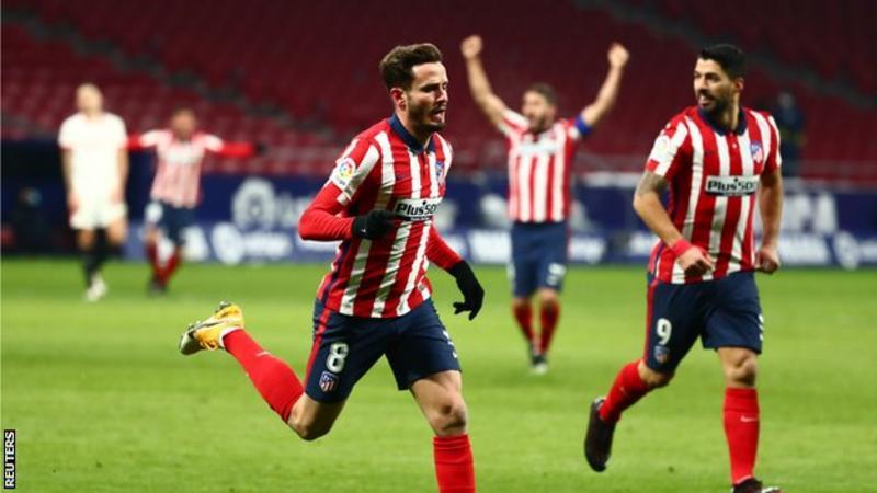 Atletico extend lead at top of La Liga
