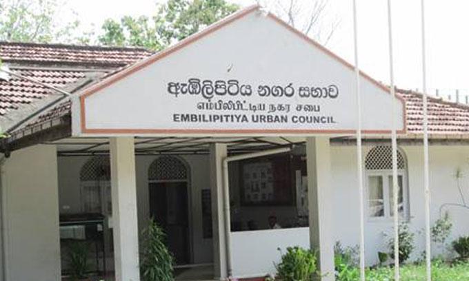 Chairmen of the Balangoda & Embilipitiya Urban Councils suspended
