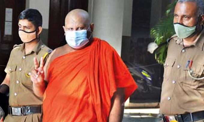 Ven.Uvatenne Sumana Thero received conditional presidential pardon